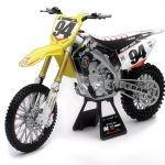 Suzuki RM-Z450 #94 Ken Roczen Dirt Bike Motorcycle 1/6 by New Ray
