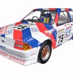 1988 Ford Escort MkIII RS1600i #75 Mark Goddard British Touring Championship 1/18 Diecast Model Car by Sunstar