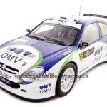 Citroen Xsara 2005 WRC  M.Stohl Rally Cyprus 1 of 2000 Made 1/18 Diecast Model Car by Autoart