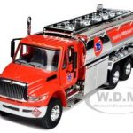 International Durastar 76 Gasoline Fuel Tanker Truck 1/50 Diecast Model by First Gear