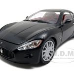 Maserati Gran Turismo Black 1/18 Diecast Car Model by Motormax