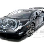 Lamborghini Gallardo LP560-4 Super Trofeo Black 1/18 Diecast Model Car by Motormax