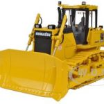Komatsu D65EX-17 Sigmadozer with Ripper 1/50 Diecast Model by First Gear