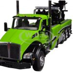 Kenworth T880 Green with Century Rotator Wrecker Tow Truck 1/50 Diecast Model by First Gear