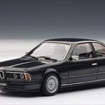 BMW 635CSi Diamantblack Metallic 1/43 Diecast Model Car by Autoart