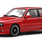 1989 BMW M3 Evolution Cecotto Red 1/43 Diecast Car Model by Autoart