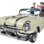 1955 Pontiac Star Chief I Love Lucy On The Road Again 1/18 Diecast Car Model by Sunstar