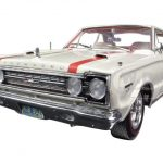 1967 Plymouth GTX 440 White 1/18 Diecast Car Model by Highway 61
