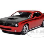 Plymouth Cuda Concept Rallye Red 6.1 Hemi With Black AAR Stripes 1/18 Diecast Car Model by Highway 61