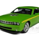 Plymouth Cuda Concept Sublime Green 1/18 Diecast Car Model by Highway 61