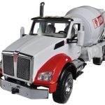 Kenworth T880 with Standard Mixer 1/50 Diecast Model by First Gear