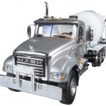 Mack Granite with McNeilus Bridgemaster Mixer 1/50 Diecast Model by First Gear