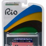 Rio Volkswagen Type 2 Bus Team USA 1/64 Diecast Model Car by Greenlight