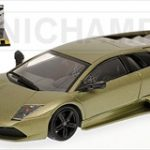 2006 Lamborghini Murcielago LP 640 Metallic Green Top Gear Edition 1/43 Diecast Model Car by Minichamps