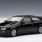 Ford Sierra RS Cosworth Black 1/43 Diecast Model Car by Autoart