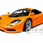 1994 Mclaren F1 Road Car Orange 1/12 Diecast Car Model by Minichamps