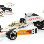 Mclaren Ford M23 #30 ´Yardley´ Jacky Ickx German GP 1973 Limited to 690pc 1/18 Diecast Model Car by Minichamps