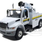 International DuraStar Construction Service Truck New Holland Agriculture 1/50 Diecast Car Model by First Gear