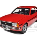 1975 Opel Ascona B SR Cardinal Red 1/18 Diecast Model Car by Sunstar