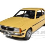 1975 Opel Ascona B SR Pastel Beige 1/18 Diecast Model Car by Sunstar