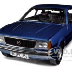 Opel Ascona B SR Metallic Blue 1/18 Diecast Car Model by Sunstar