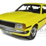 Opel Ascona B SR Yellow 1/18 Diecast Car Model by Sunstar
