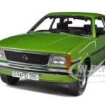 Opel Ascona B SR Green / Limonengruen Metallic 1/18 Diecast Car Model by Sunstar