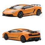 Lamborghini Gallardo LP570-4 Superleggera Metallic Orange/Arancio Borealis 1/43 Diecast Car Model by Autoart