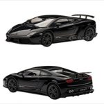 Lamborghini Gallardo LP570-4 Superleggera Black / Nero Noctis 1/43 Diecast Car Model by Autoart