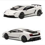 Lamborghini Gallardo LP570-4 Superleggera White / Bianco Monocerus 1/43 Diecast Car Model by Autoart