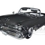1959 Dodge Custom Royal Lancer Open Convertible Pewter Poly 1/18 Diecast Car Model by Sunstar