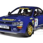 Subaru Impreza 555 #2 1993 Rally Lakes A.Vatanen/B.Berglund 1/18 Diecast Model Car by Sunstar