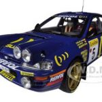Subaru Impreza 555 #5 C.Sainz/L.Moya Winner Rally Monte-Carlo 1995 Limited to 2999pc 1/18 Diecast Model Car by Sunstar
