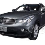 2012 Infiniti EX25 Grey 1/18 Diecast Car Model by Paudi