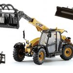 CAT Caterpillar TH407C Telehandler with Attachments Features 1/32 Diecast Model by Norscot