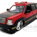 2002 Cadillac Escalade Fire Chief D.C.F.D. 1/24 Diecast Model Car by Jada