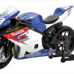Suzuki GSX-R1000 #6 Makita Suzuki Rockstar Bike Motorcycle 1/12 by New Ray