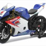 Suzuki GSX-R1000 #1 Makita Suzuki Rockstar Bike Motorcycle 1/12 by New Ray