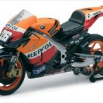 Repsol Honda Team RC212V #26 Dani Pedrosa Motorcycle 1/12 Diecast Model by New Ray