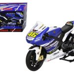 2013 Yamaha YZR-M1 Valentino Rossi Monster Moto GP #46 Motorcycle Model 1/12 by New Ray