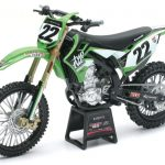 Kawasaki KX 450F Two Two Motorsports Chad Reed #22 Bike Motorcycle Model 1/12 Diecast Model by New Ray