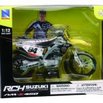 Suzuki RM-Z 450 #94 Ken Roczen Motorcycle Model 1/12 by New Ray