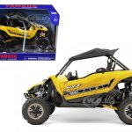 Yamaha YXZ 1000R Triple Cylinder Yellow Buggy 1/18 Diecast Model by New Ray