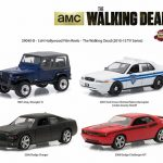 Hollywood Film Reels Series 4 The Walking Dead (2010-Current) TV Series 4 Cars Set 1/64 Diecast Model Cars  by Greenlight
