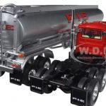 Mack R with 42 Fuel Tank Trailer Pacific Intermountain Express (P.I.E.) 1/64 Diecast Model by First Gear