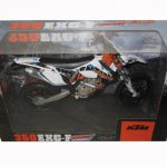 KTM 350 EXC-F Argentina 6 Days Dirt Motorcycle Model 1/12 by Automaxx