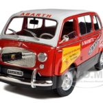 Fiat 600D Multipla La Marmitta Abarth 1/18 Diecast Model Car by Unique Replicas
