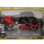 Suzuki GSX 1300 R Red/Black Motorcycle Model 1/12 by Automaxx