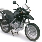 BMW F650GS Black Motorcycle Model 1/12 by Automaxx