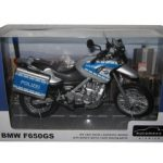 BMW F650GS Police Polizei Bike Motorcycle Model 1/12 by Automaxx